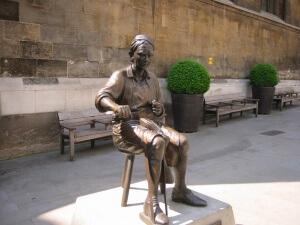 Cordwainer statue copy