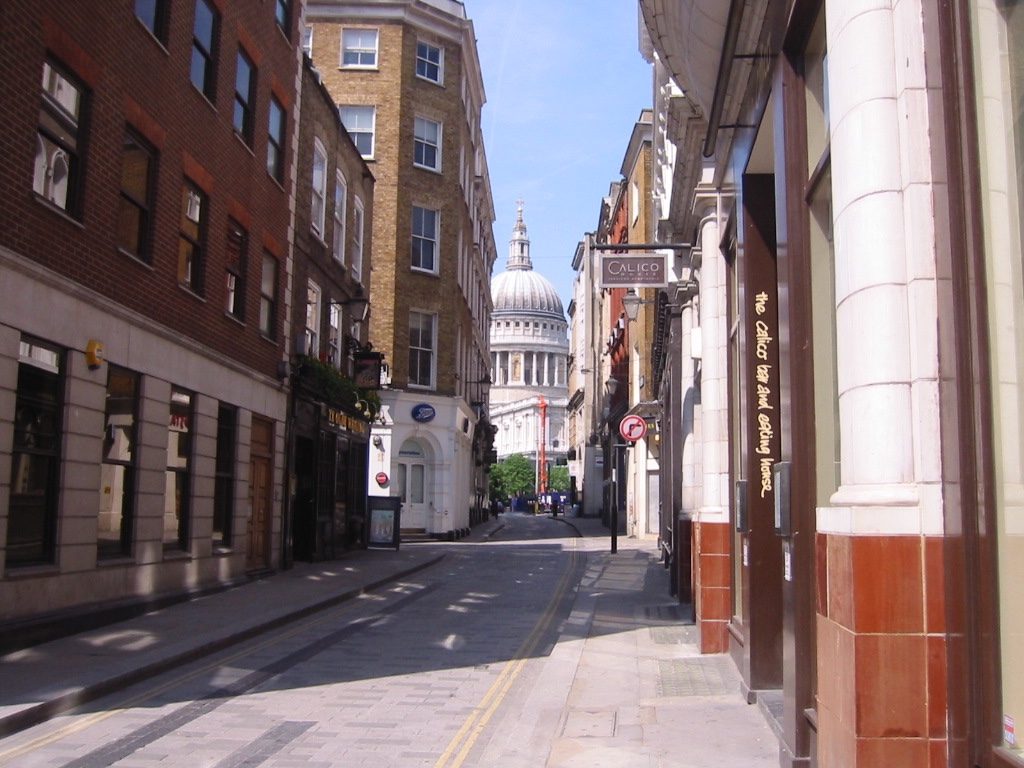 Watling Street looking towards St Pauls(2)